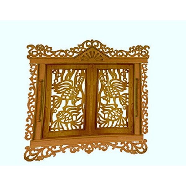 Декоративные элементы для украшения деревянных домов, бань, беседок, резные ставни и палисад