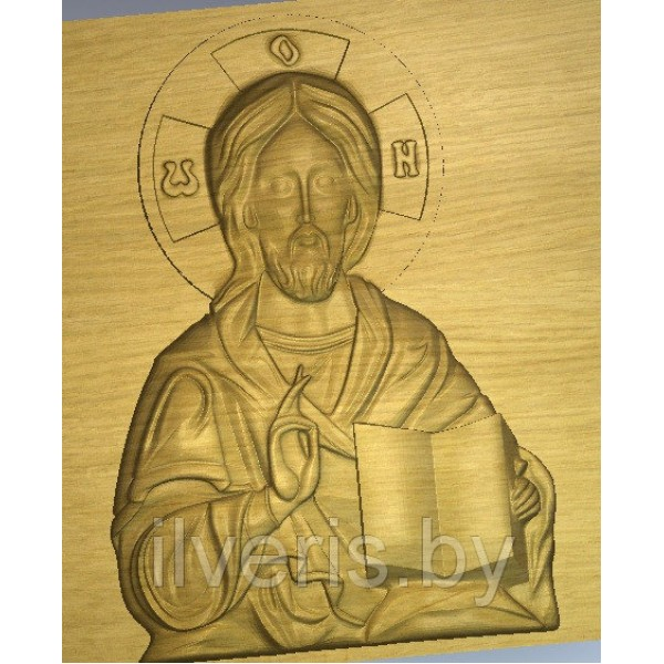 Икона Иисус без оклада