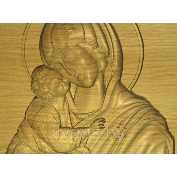 Божья Матерь Донская без оклада