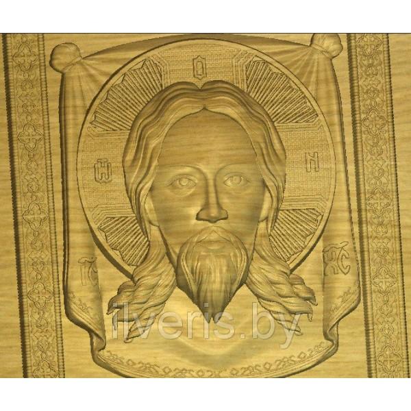 Иисус на плащанице 2