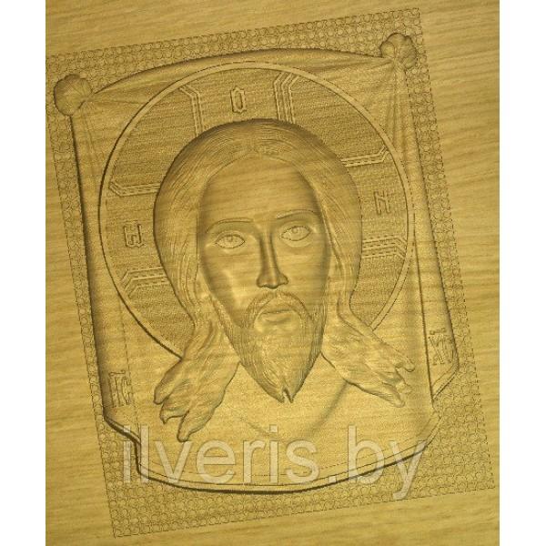 Иисус на плащанице 1