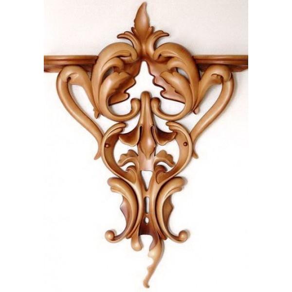 Резной декор для мебели, декоративные элементы